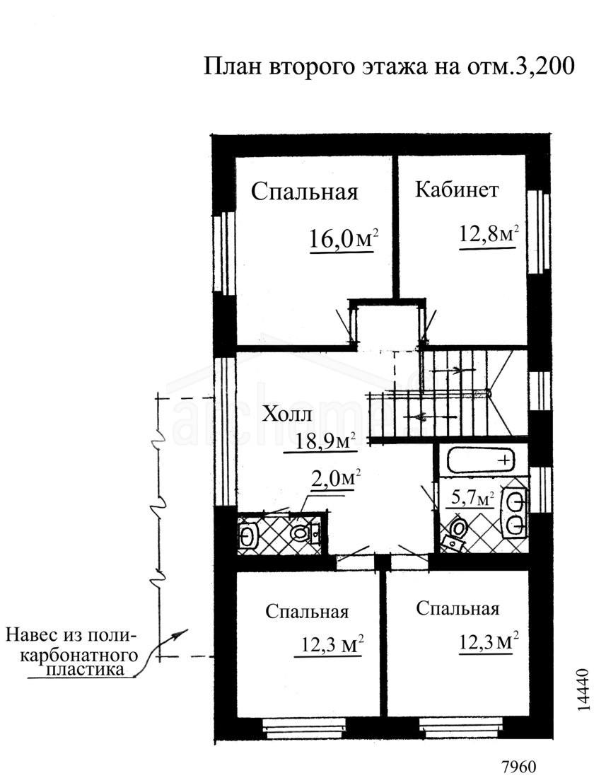 Планы этажей проекта КЛЕР 2