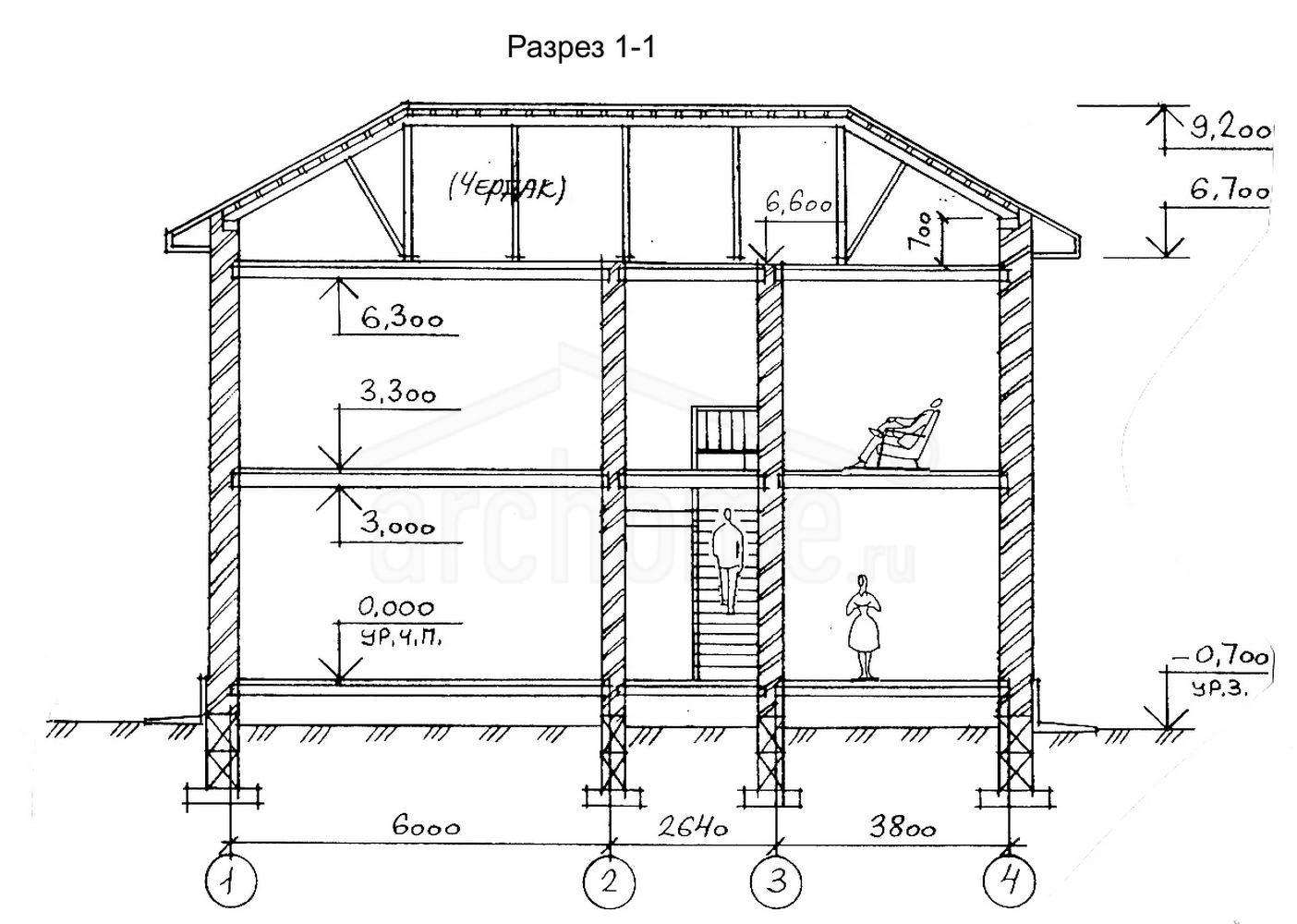 Планы этажей проекта ВАТСОН 3