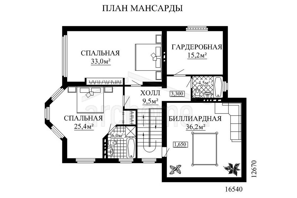Планы этажей проекта АЛИСА 3