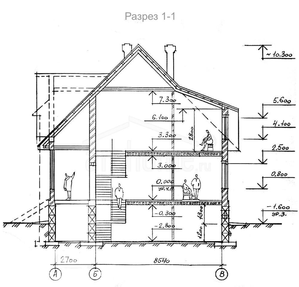 Планы этажей проекта КРОНА 4