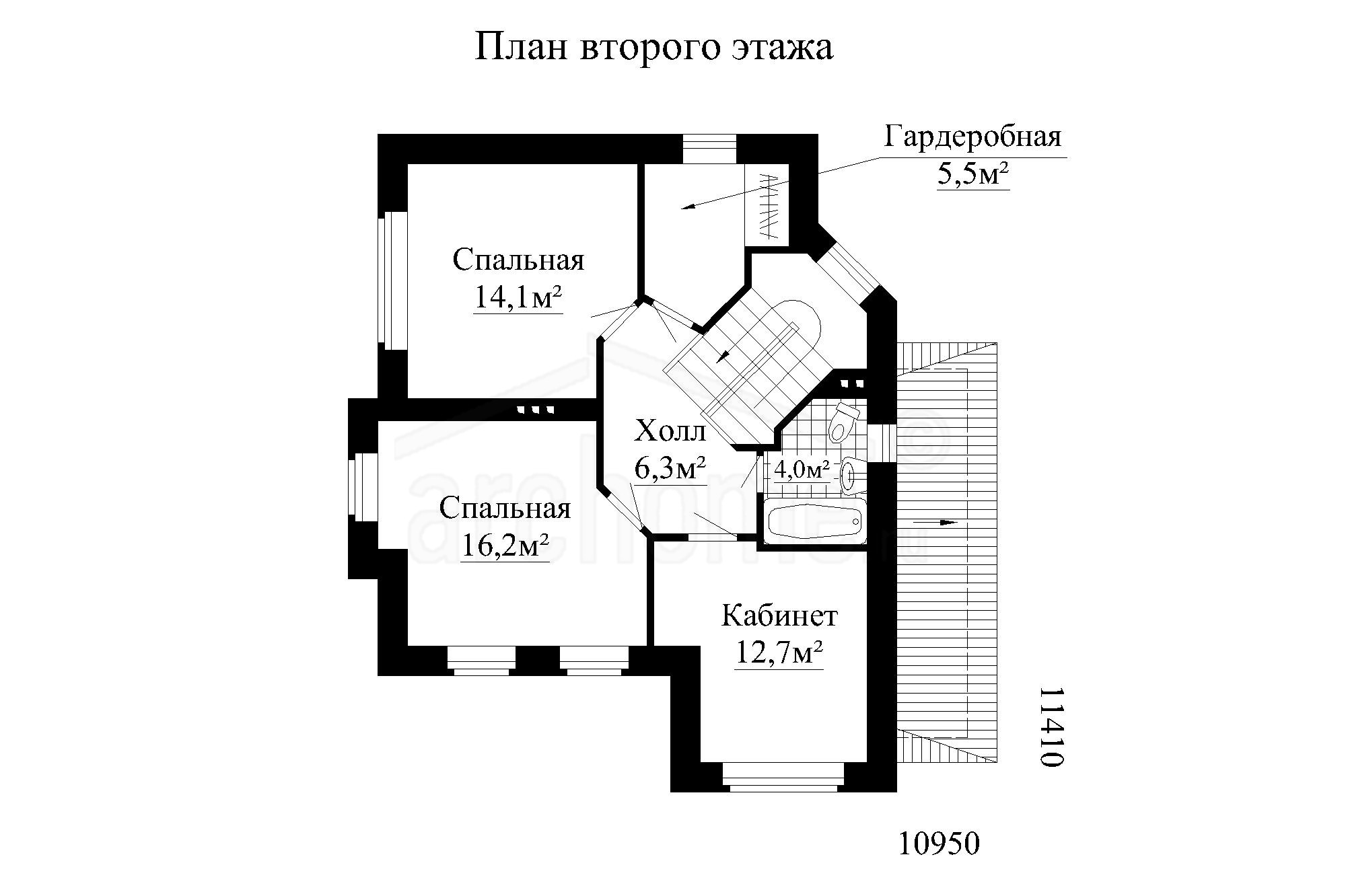 Планы этажей проекта ЛАЙТ 2