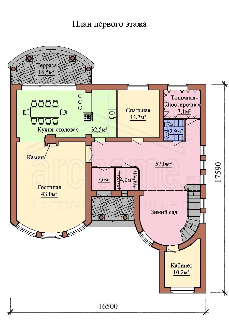 Планы этажей проекта ДЖОТТО 1