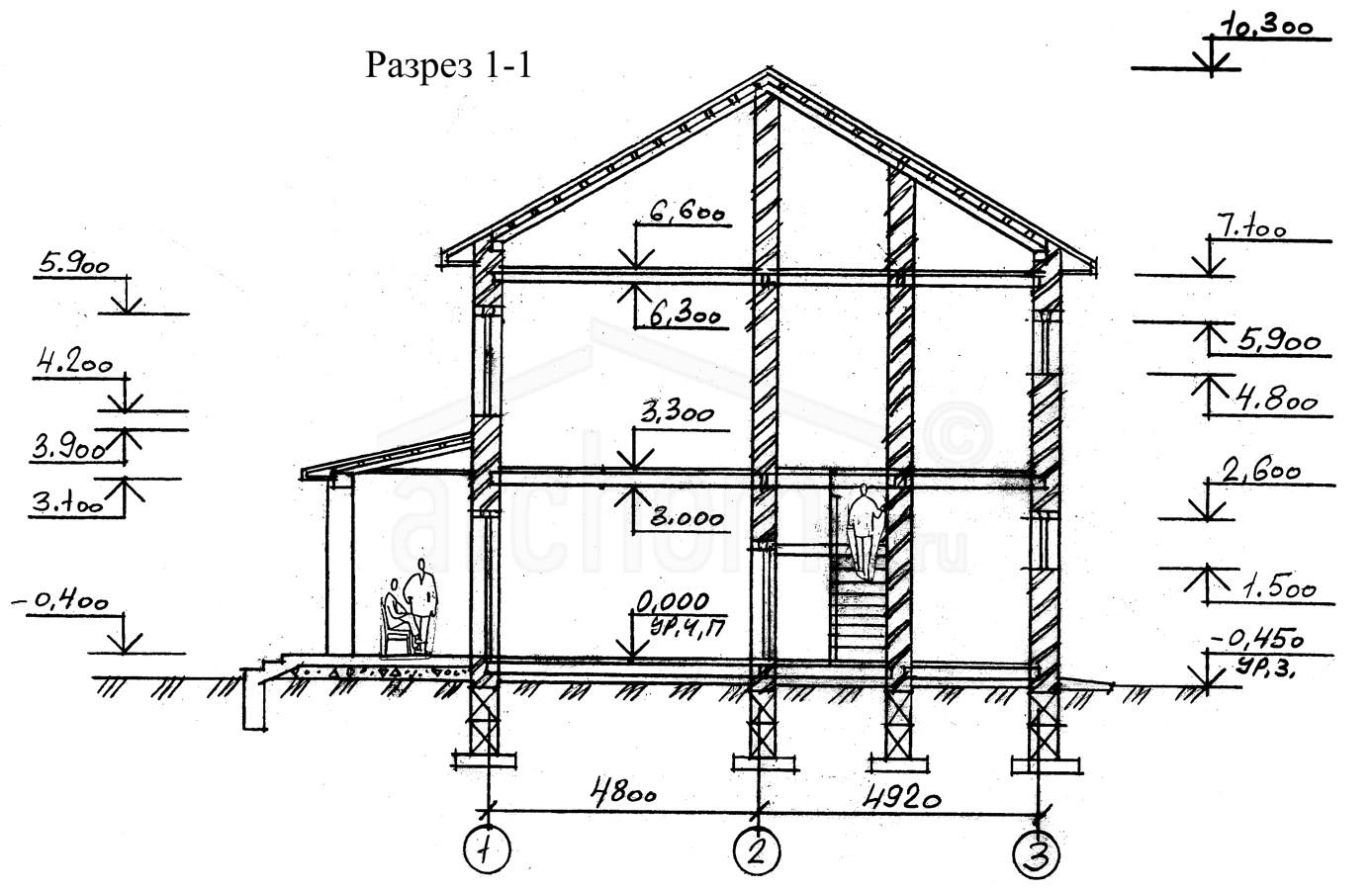 Планы этажей проекта КАРОЛИНА 3
