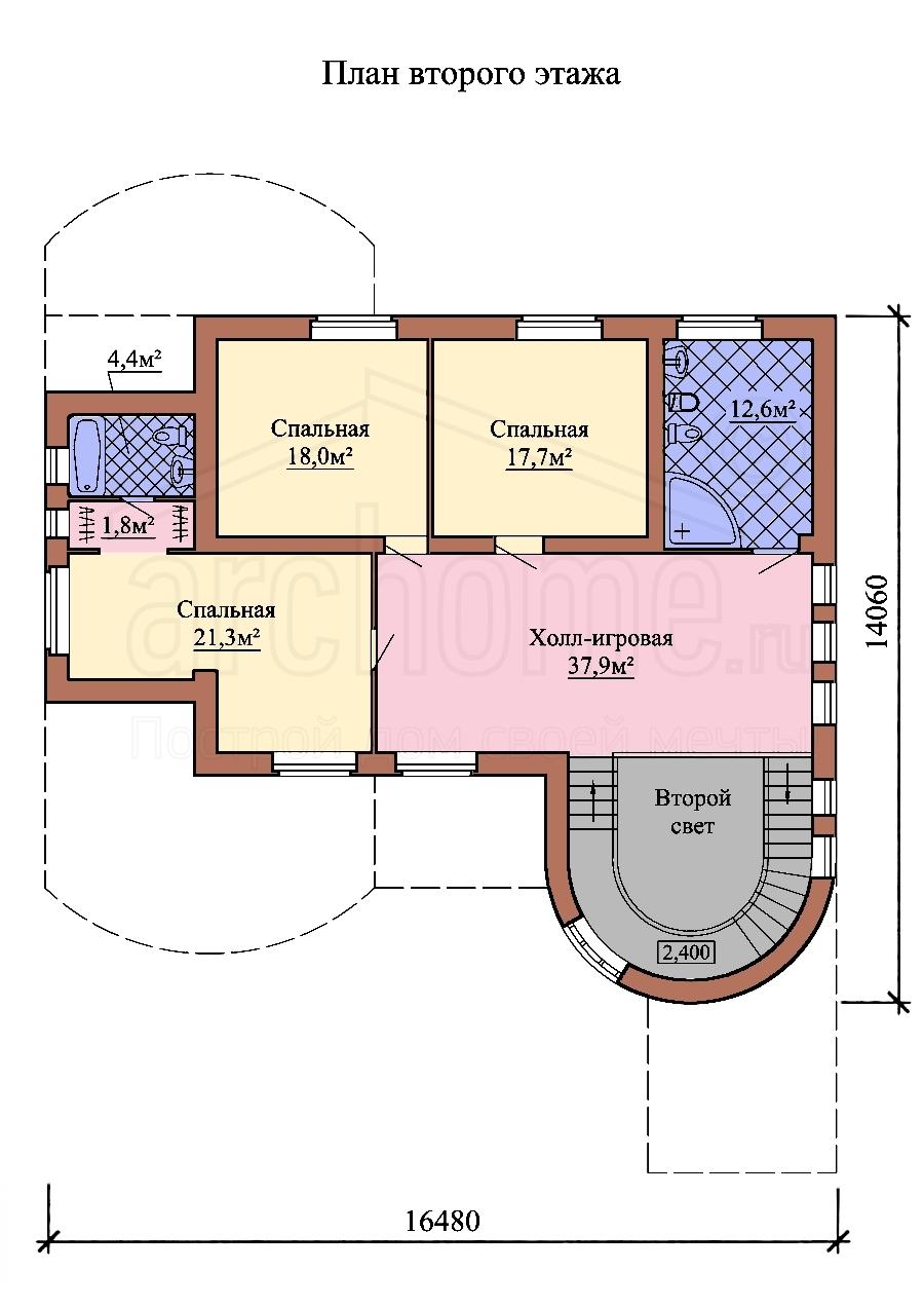 Планы этажей проекта ДЖОТТО 2