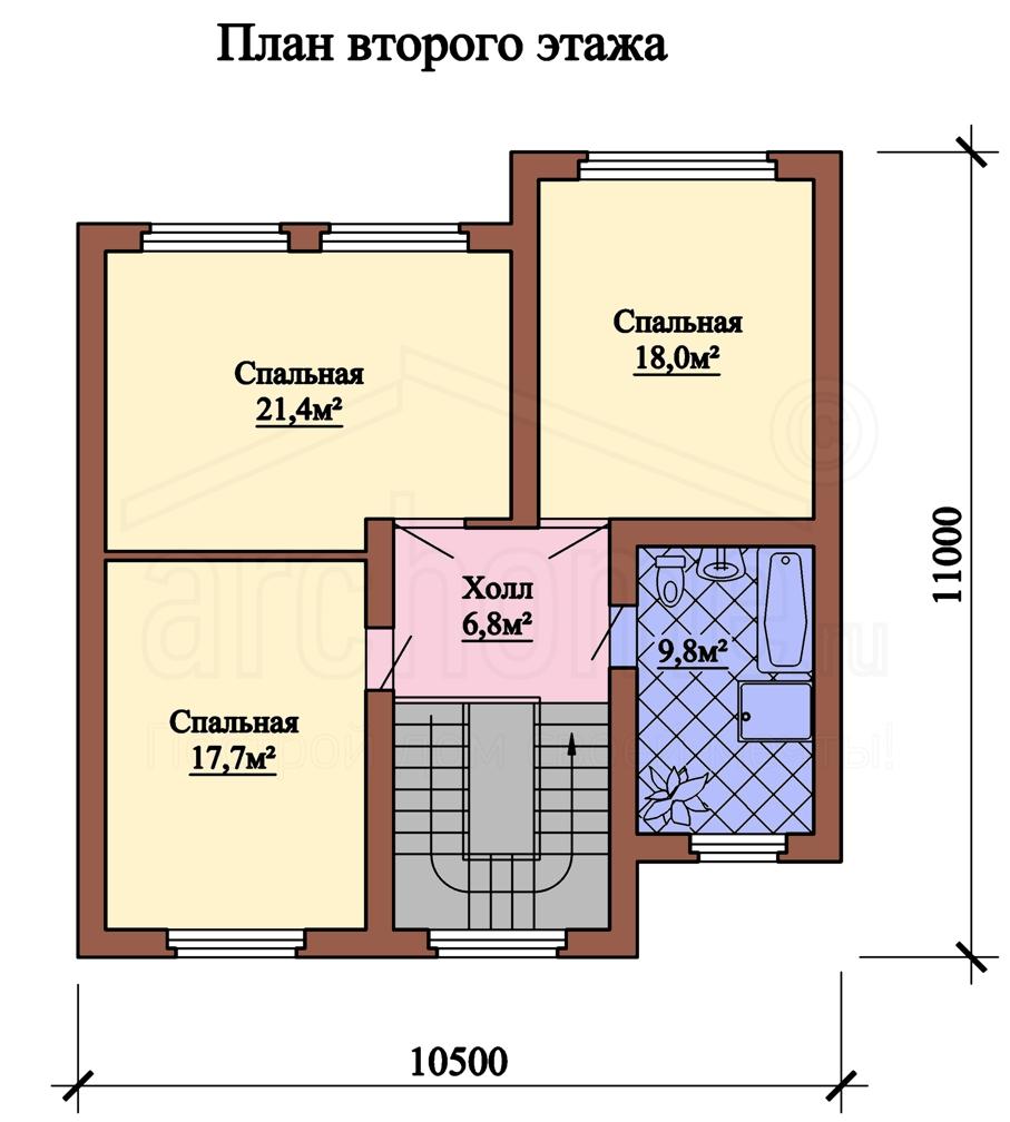 Планы этажей проекта КРИСТАЛЛ 2