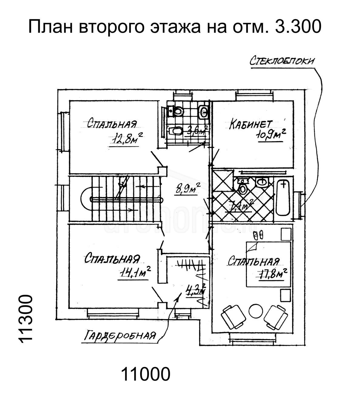 Планы этажей проекта БЕГОНИЯ 2