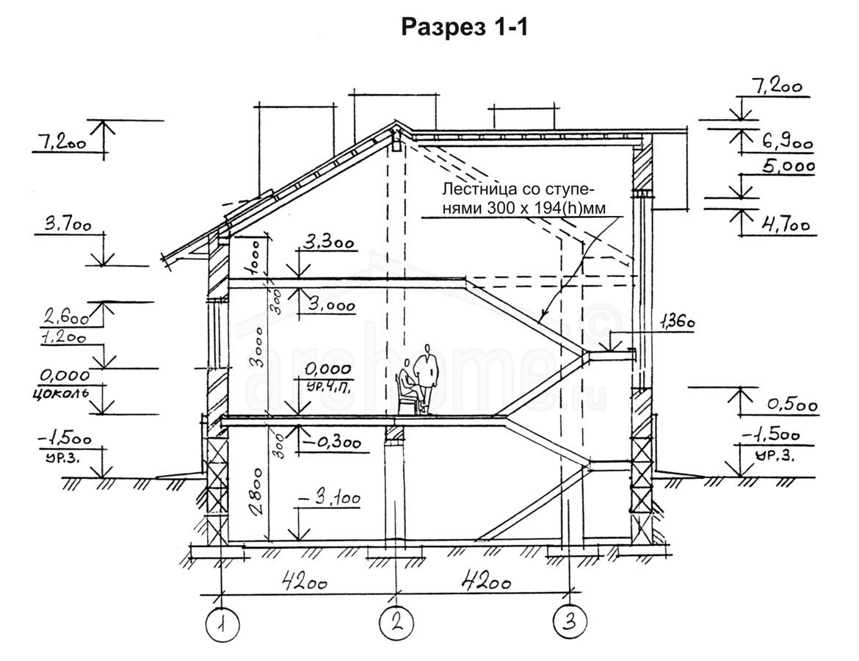 Планы этажей проекта КАСПЕР-1 4