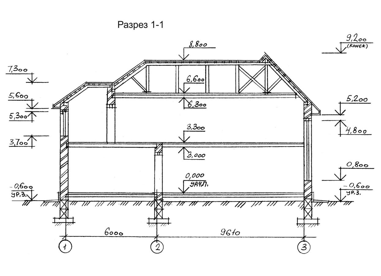 Планы этажей проекта ДЖОТТО 3