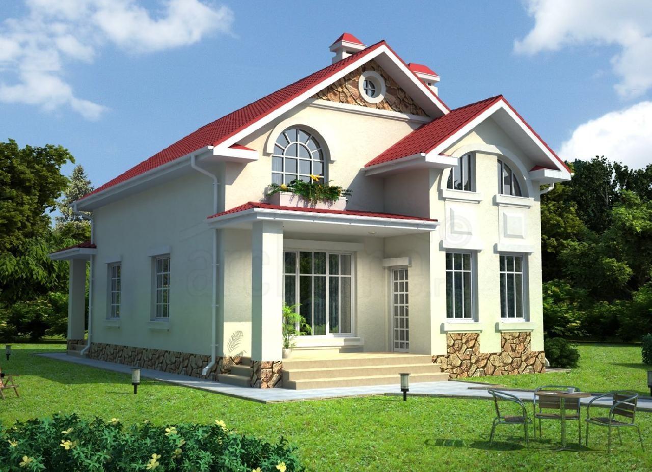 Двухэтажные дома дизайн