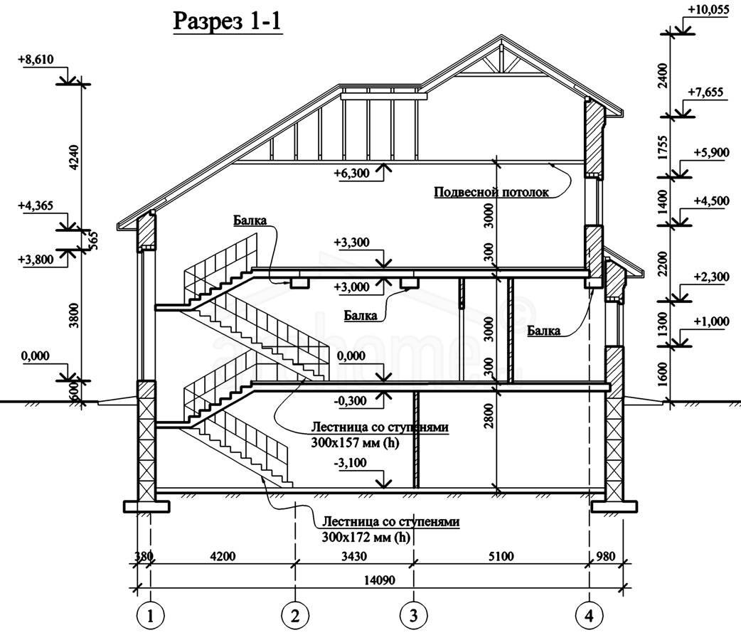 Планы этажей проекта ЭЛЬЗА-2 4
