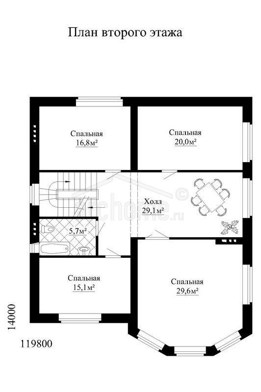 Планы этажей проекта ДОНАЛЬД 2