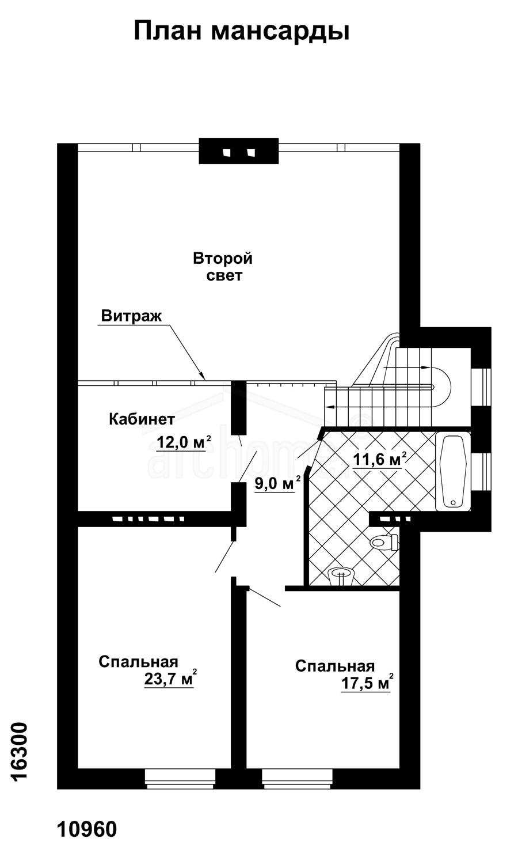 Планы этажей проекта КАСПЕР-2 2
