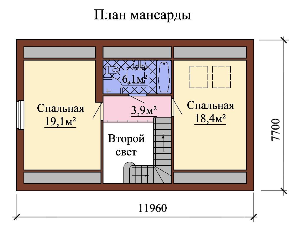 Планы этажей проекта БИСЕР 2