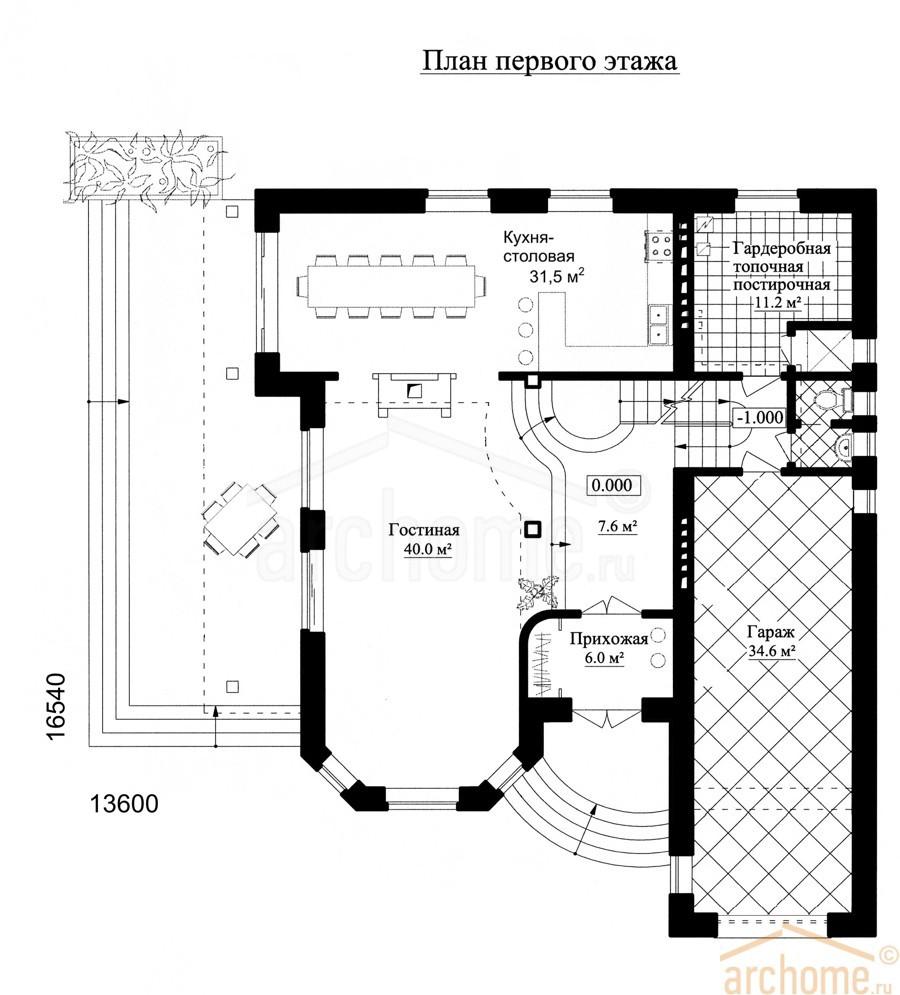 Планы этажей проекта АГАТ 1