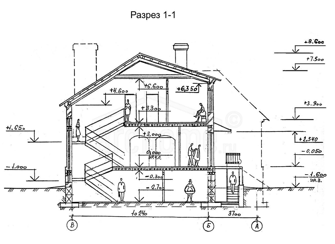 Планы этажей проекта МАРТИН 4