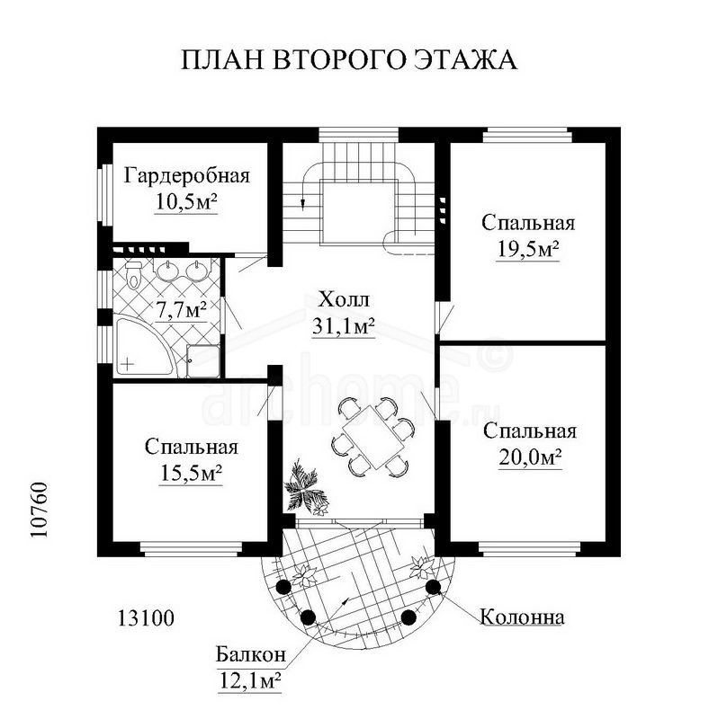 Планы этажей проекта АРАМИС 2