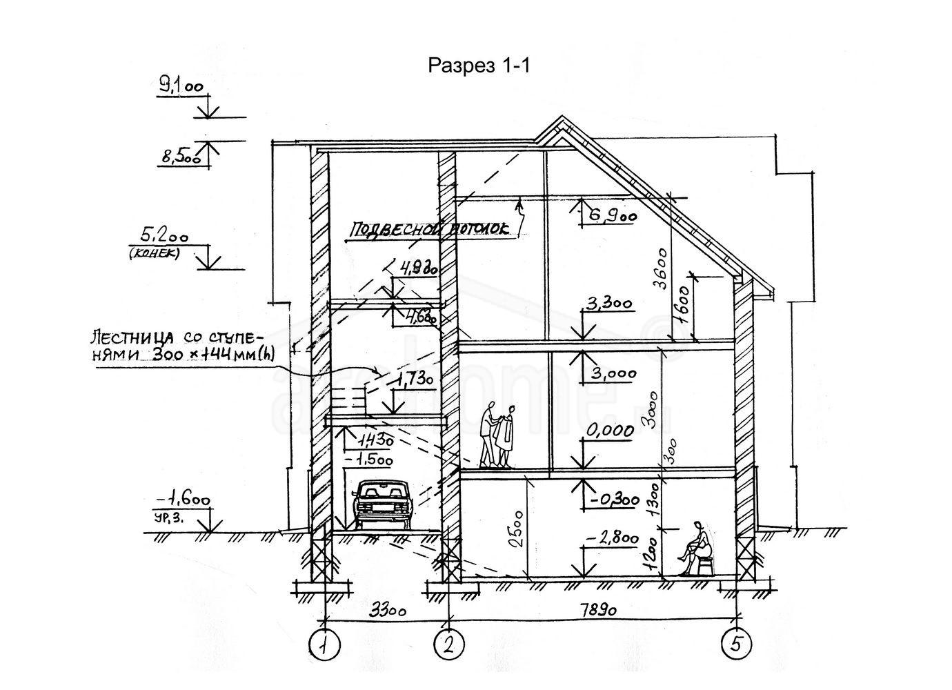 Планы этажей проекта ЧЕСТЕР 4