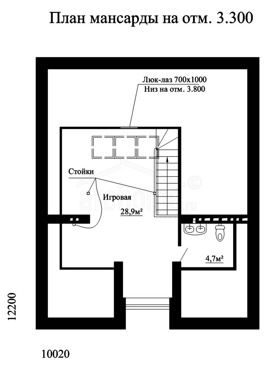 Планы этажей проекта ФИАЛКА-1 2
