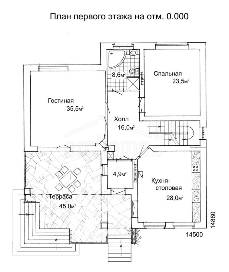 Планы этажей проекта ЛЕДА-1 2