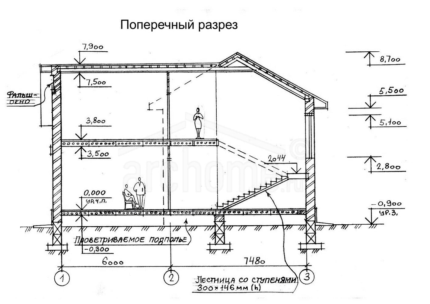 Планы этажей проекта ЛЕДА 3