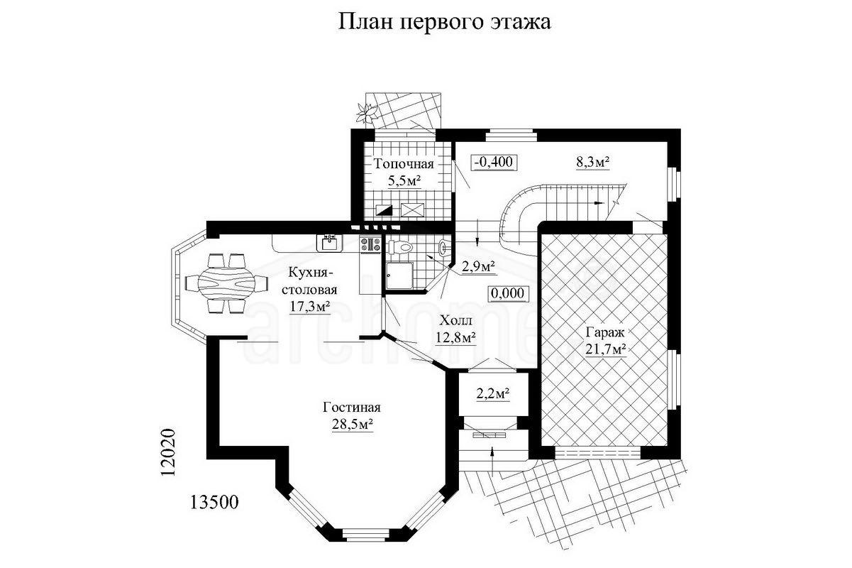 Планы этажей проекта ЛАНЧ-1 1
