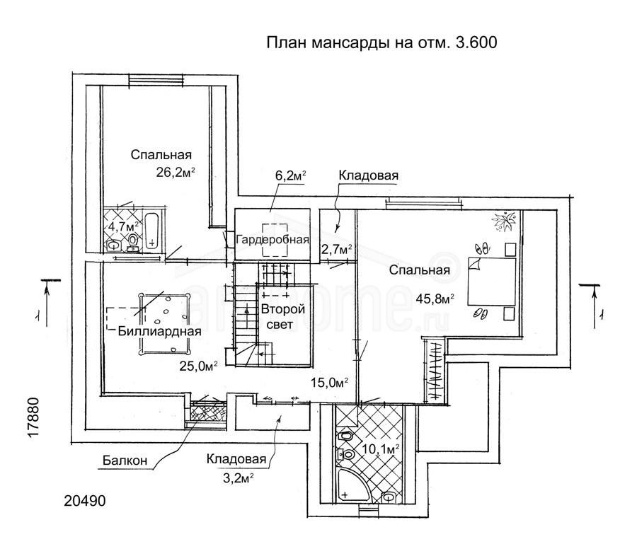 Планы этажей проекта АССОЛЬ 2