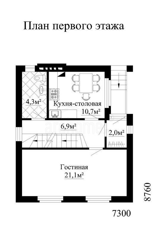 Планы этажей проекта ОХОТНИК-2 1