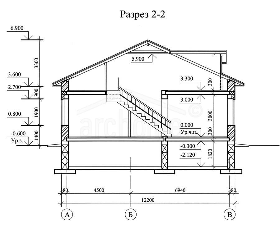 Планы этажей проекта ФИАЛКА-1 4