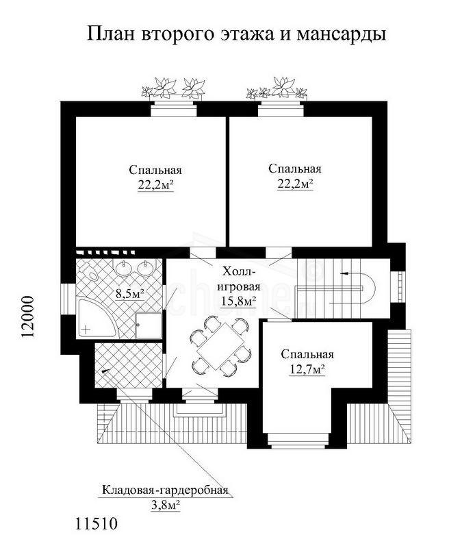 Планы этажей проекта ГУДВИН 3