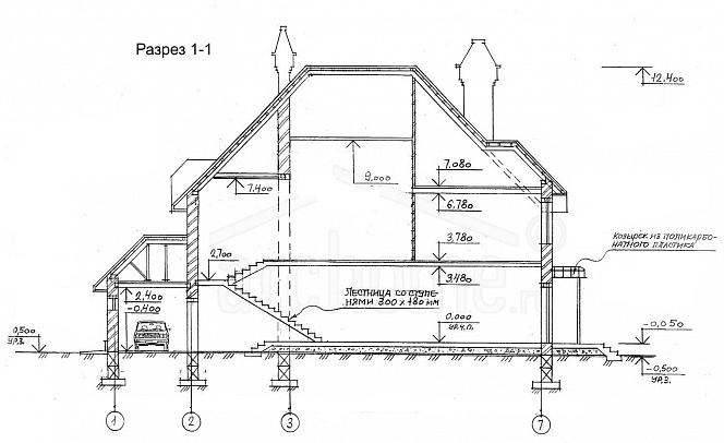 Планы этажей проекта КОРВЕТ 3