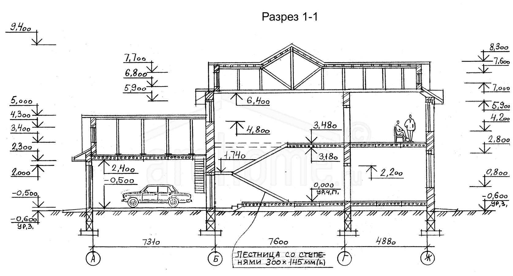 Планы этажей проекта ПЬЕРО 3