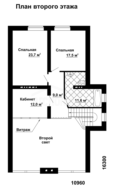 Планы этажей проекта КАСПЕР-1 2
