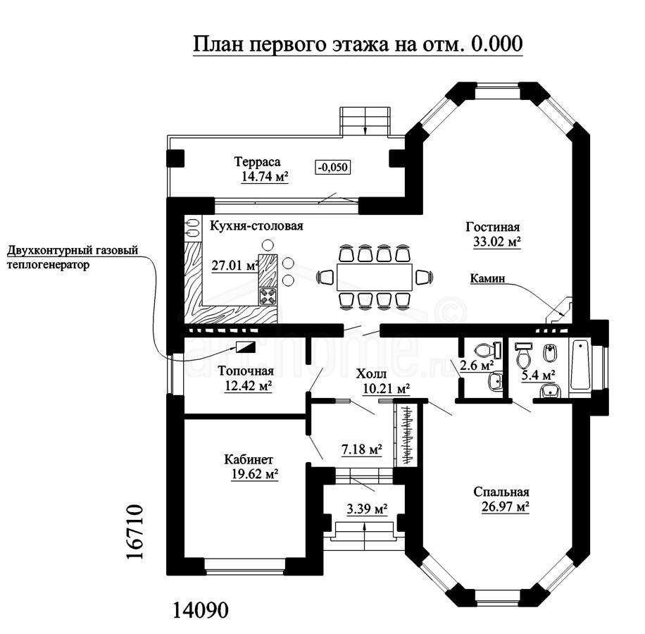 Планы этажей проекта ЭЛЬЗА-1 1