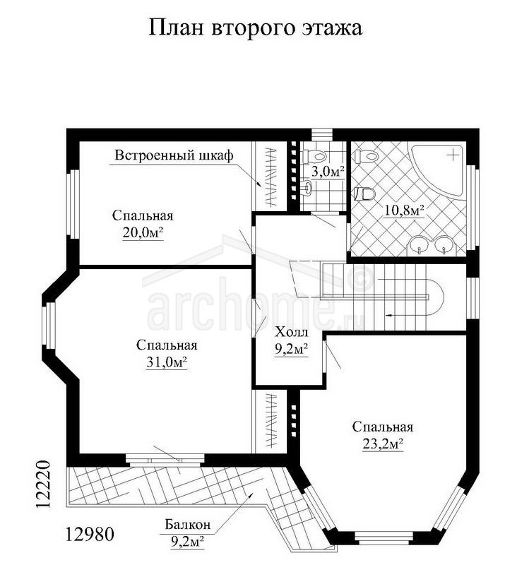 Планы этажей проекта ЭЛВИС 3
