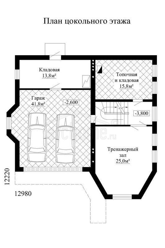 Планы этажей проекта ЭЛВИС 1