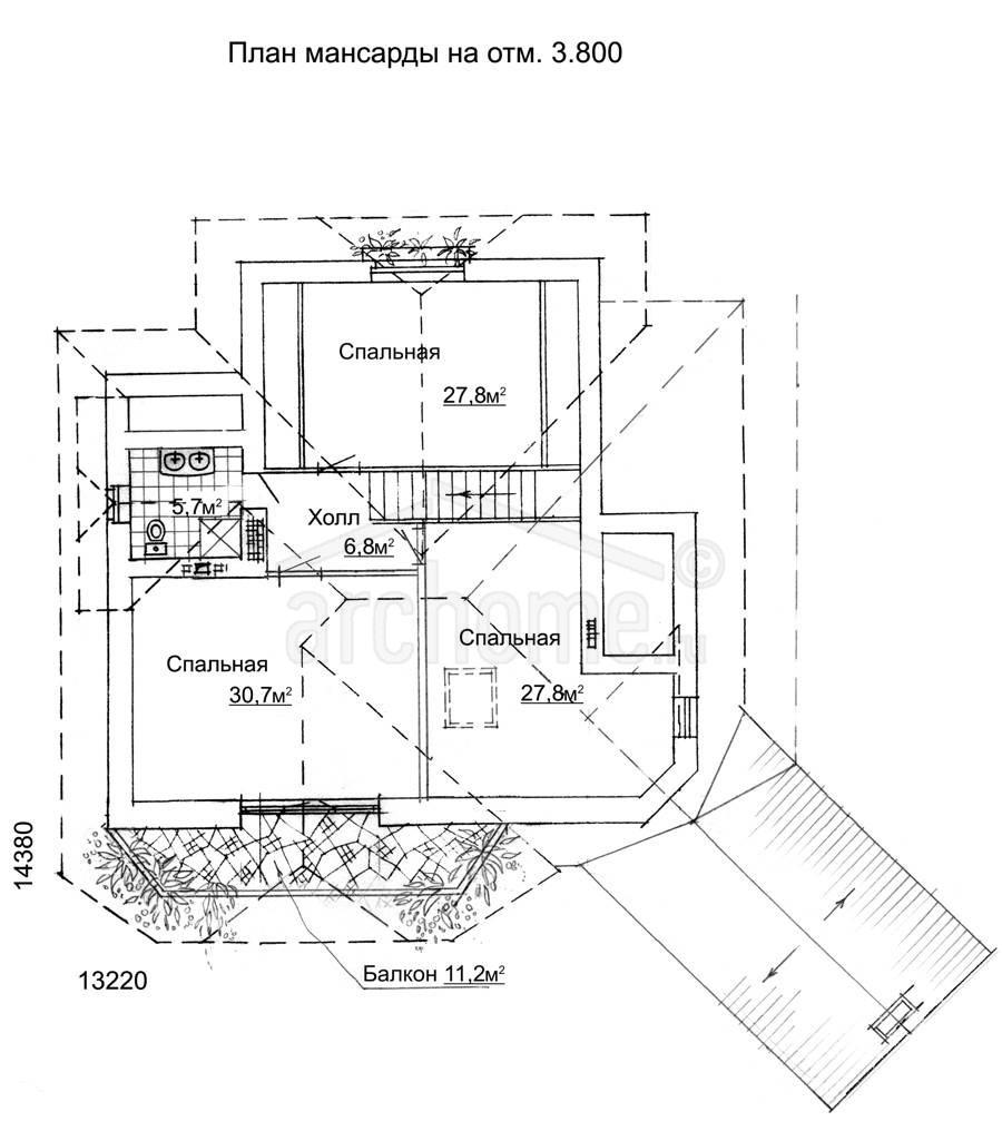 Планы этажей проекта ФАУСТ 2