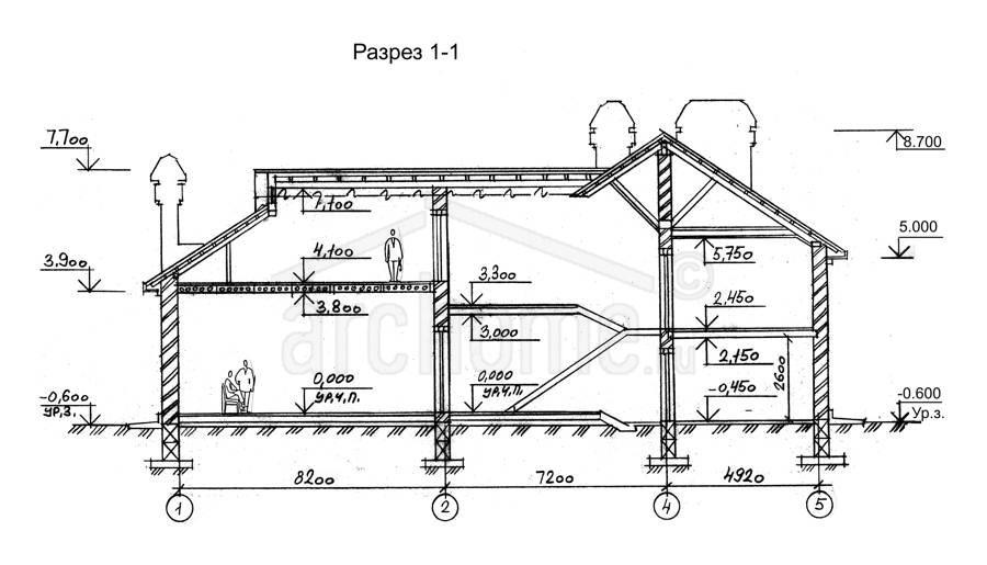 Планы этажей проекта БРЮС - 1 3