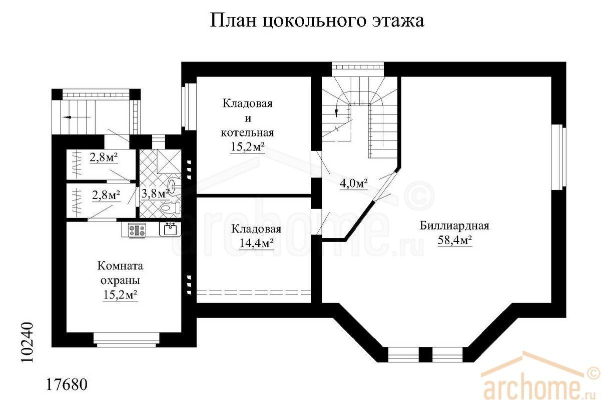 Планы этажей проекта БРИЗ 1