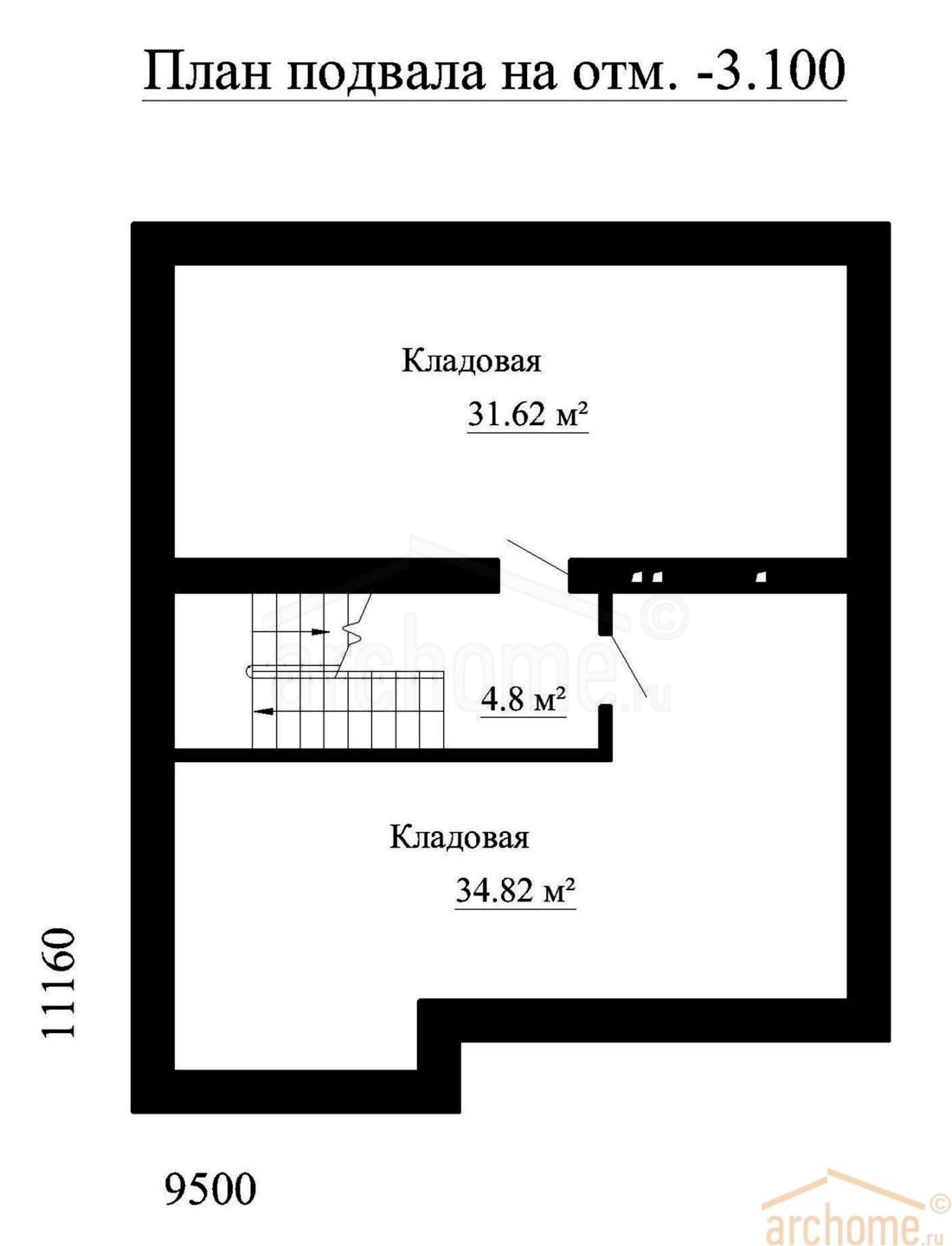 Планы этажей проекта ИРЭН-1 3