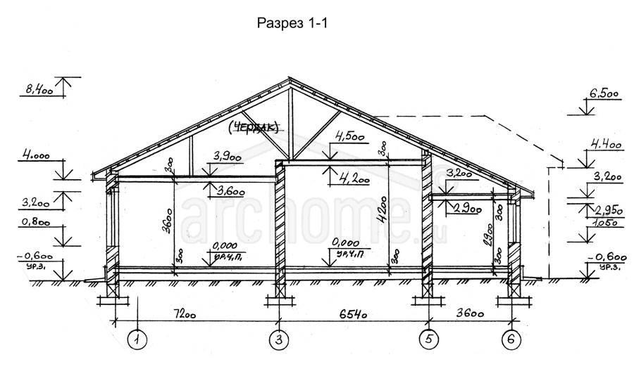 Планы этажей проекта СОНЕТ 2