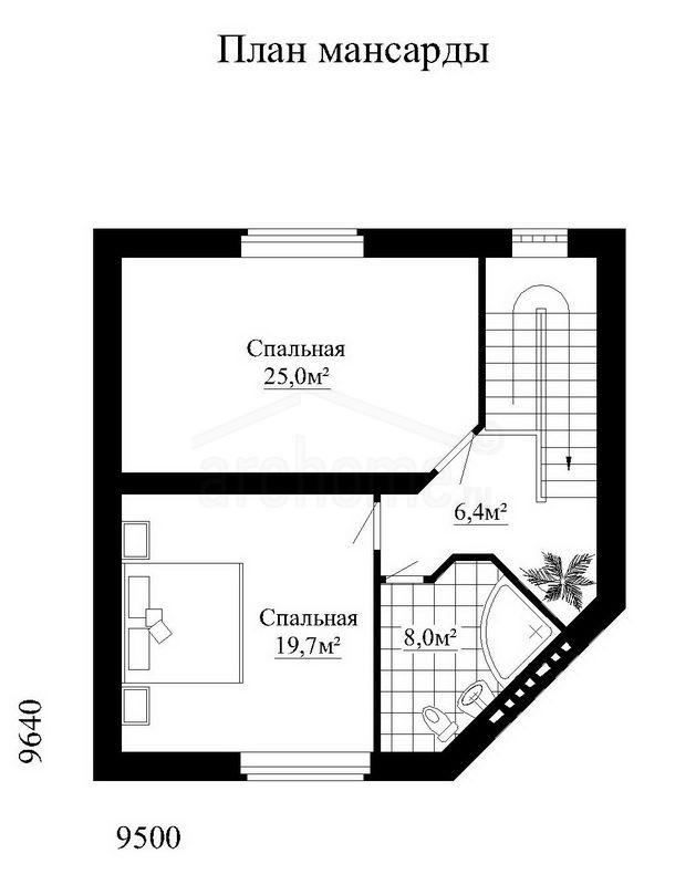 Планы этажей проекта РОСИНКА 2