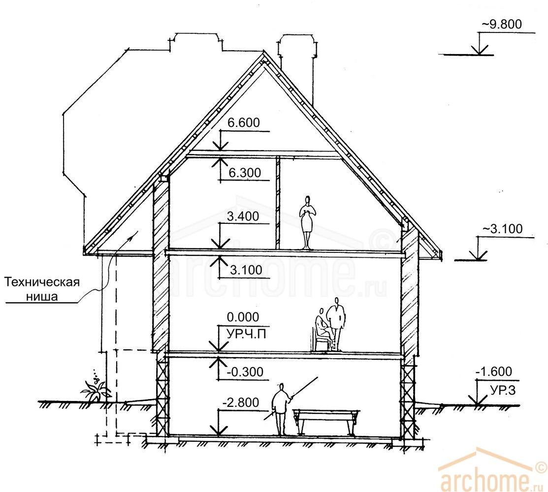 Планы этажей проекта БРИЗ 4