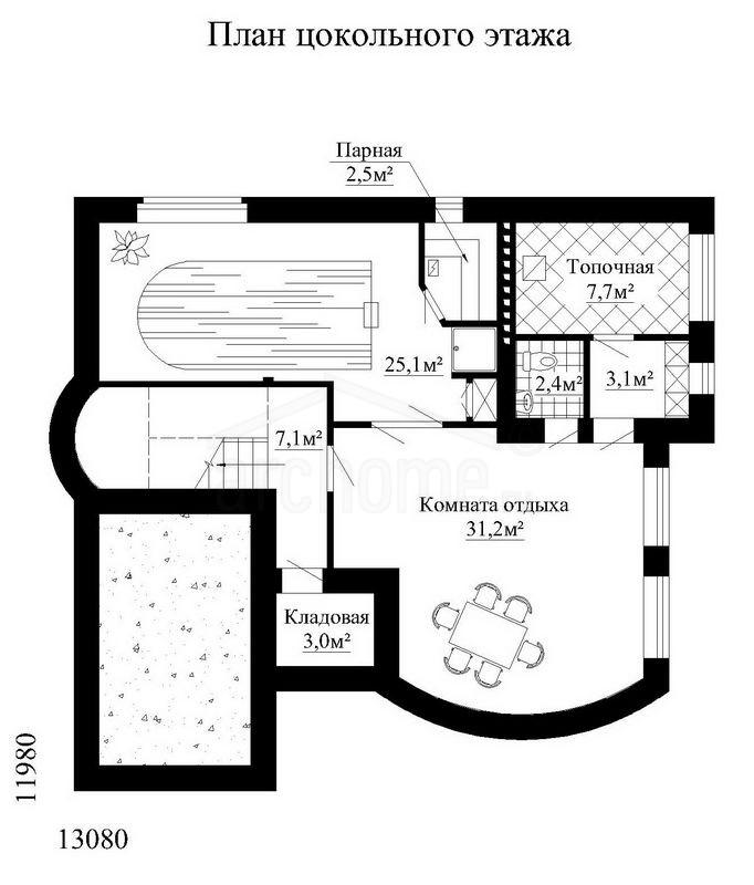 Планы этажей проекта ЧЕСТЕР 1