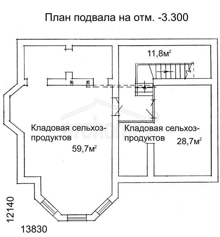 Планы этажей проекта ЛАНЧ-2 1
