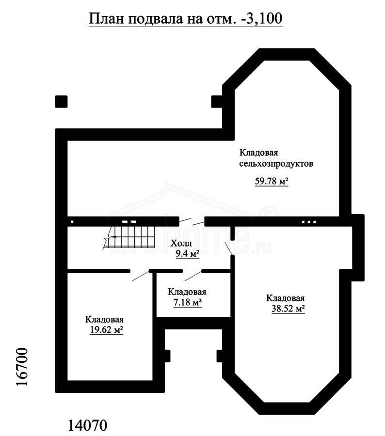 Планы этажей проекта ЭЛЬЗА-2 3