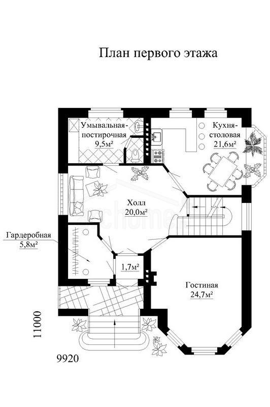 Планы этажей проекта САЛЬВАДОР 2