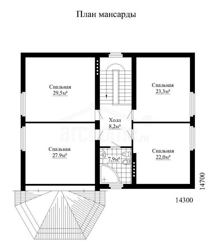 Планы этажей проекта МАРТИН 3