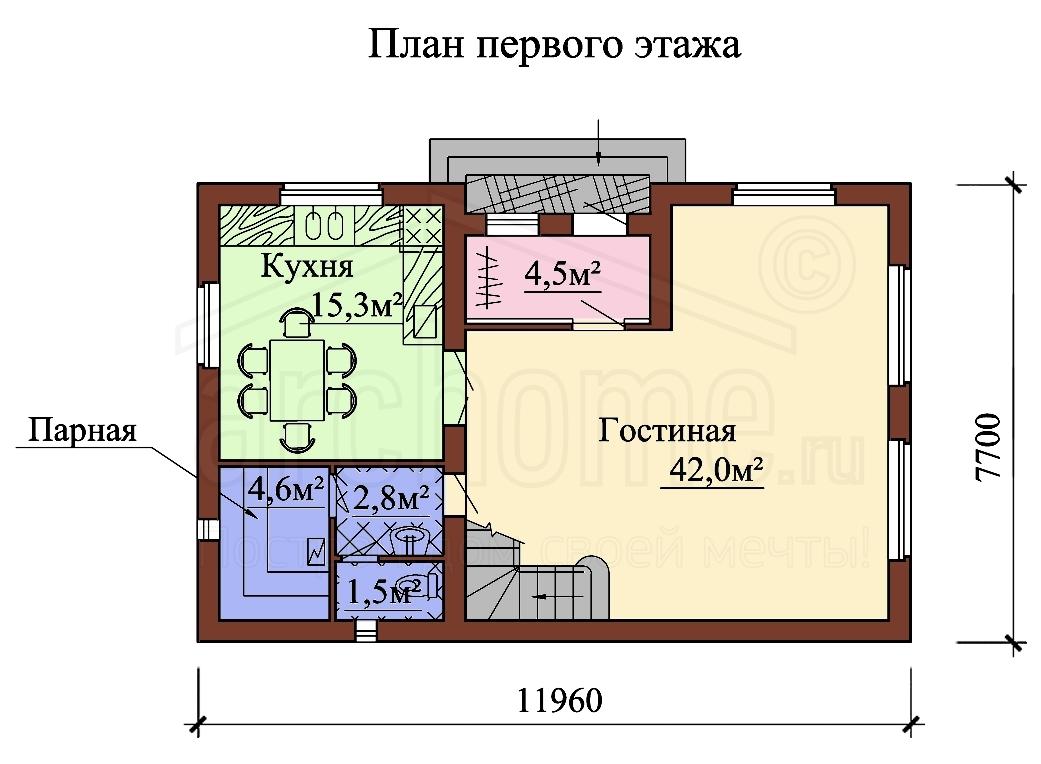 Планы этажей проекта БИСЕР-1 1