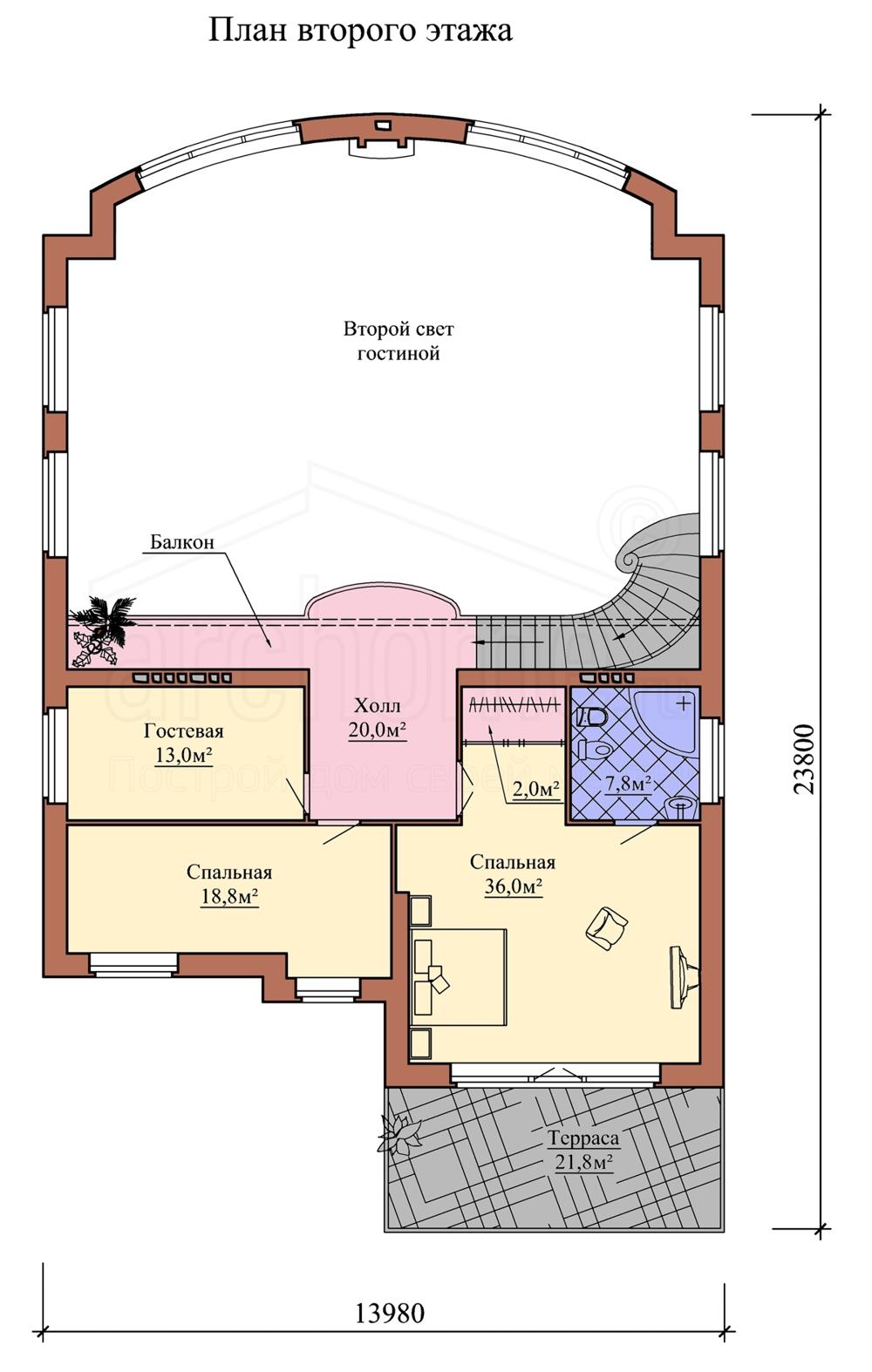 Планы этажей проекта МОНРО 2
