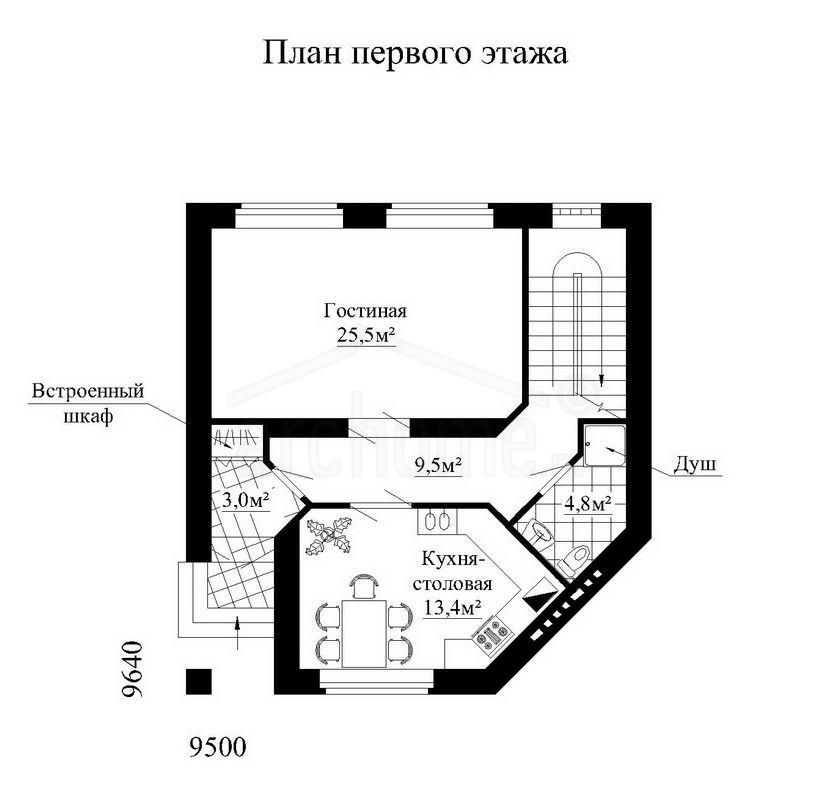 Планы этажей проекта РОСИНКА 1